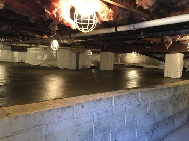 CleanSpace and a new slab in Blairstown NJ