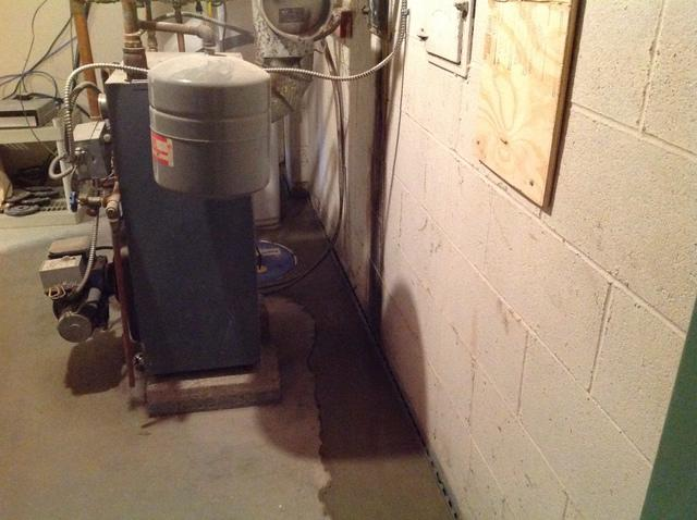 WaterGuard Installed in a Tight Space in Sparta, NJ
