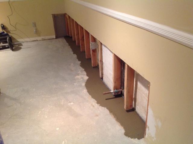 Waterproofing a Finished Basement in Sparta, NJ