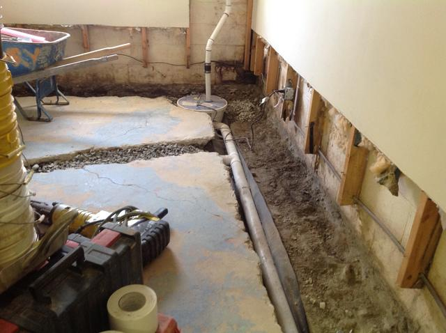 Waterproofing System with a Lateral in Vernon, NJ