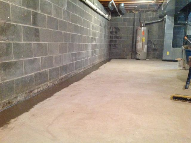 Blairstown NJ Basement Waterproofed - After Photo