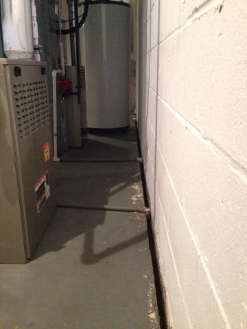 Basement Waterproofing System in Morristown NJ