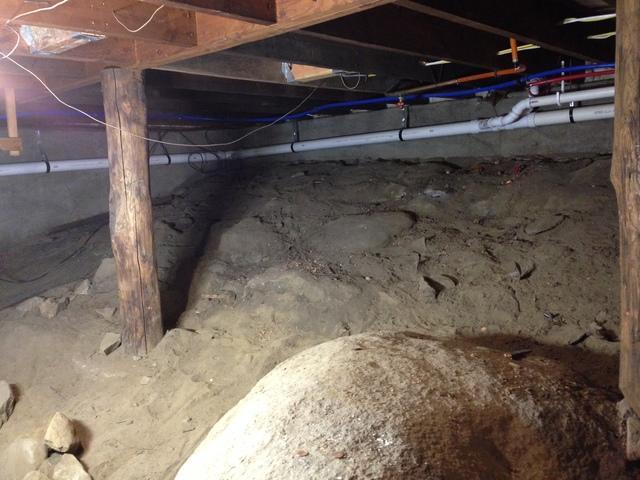 Nasty Crawlspace Turned Beautiful in Sparta NJ