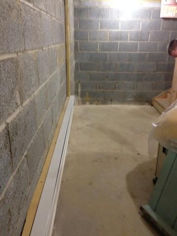 WaterGuard Basement Waterproofing System in Vernon, NJ