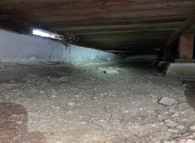 Crawlspace encapsulation in Corte Madera, CA - Before Photo