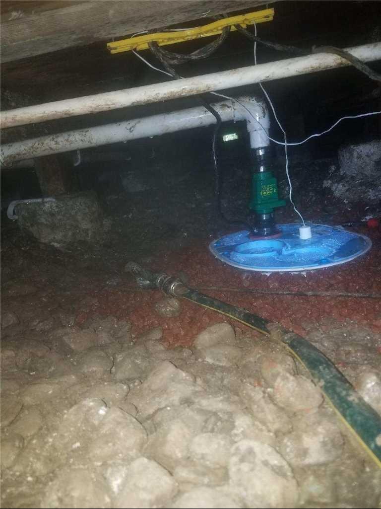 Sump Pump Replacement Suisun City, CA - After Photo