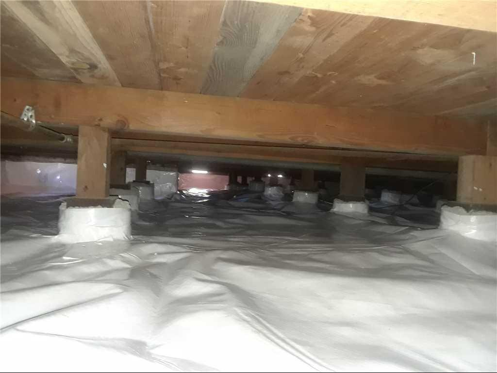 Crawlspace Encapsulation in Saint Helena, CA - After Photo