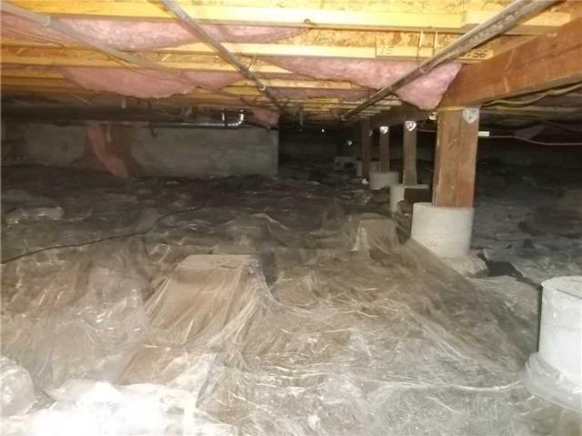 Crawlspace Encapsulation in Petaluma, CA - Before Photo