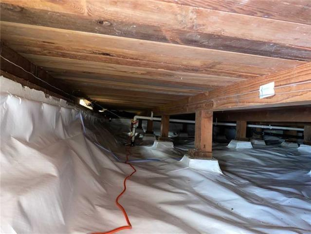 Crawlspace encapsulation in Corte Madera, CA - After Photo