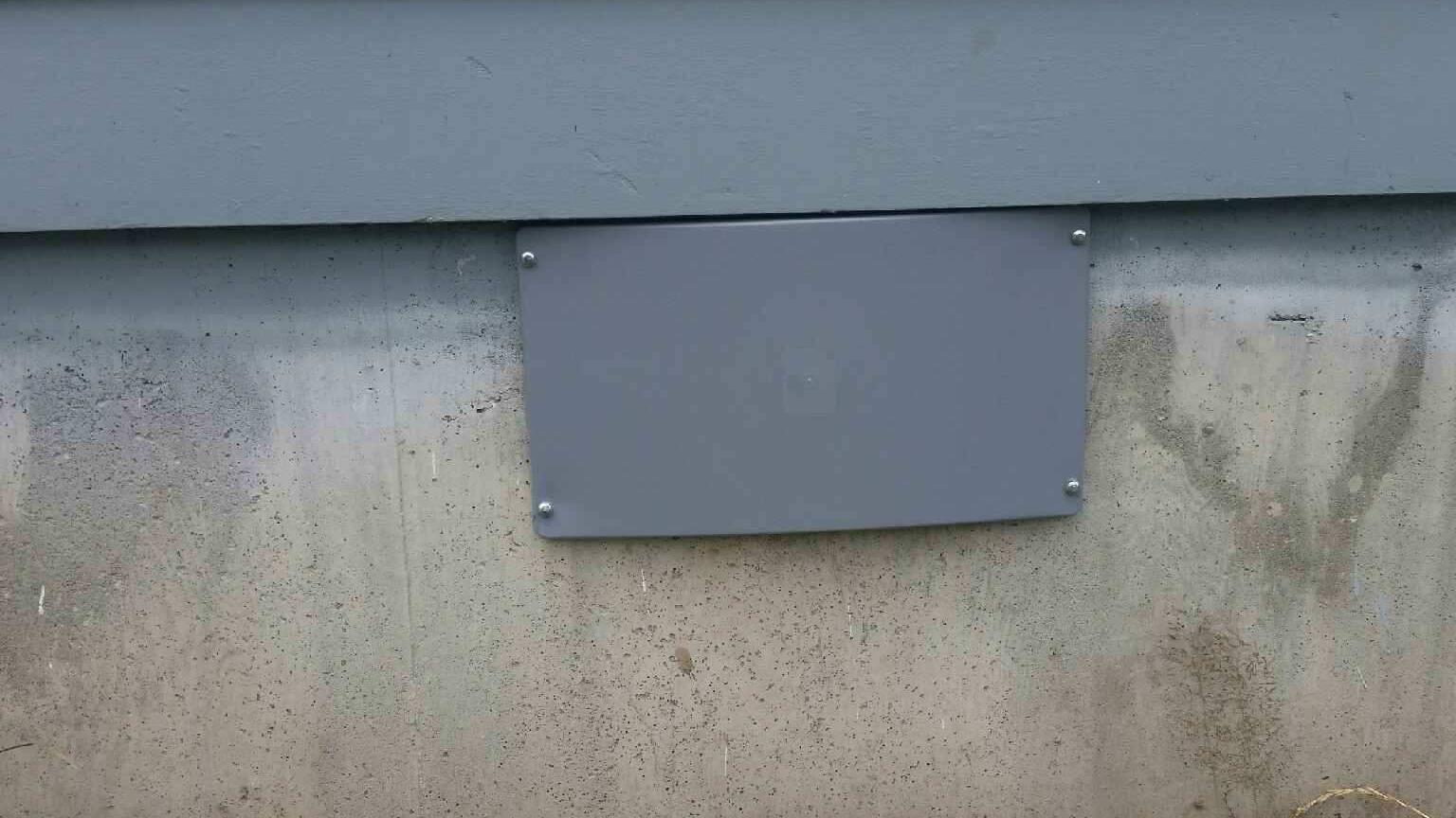 CleanSpace Northwest Crawlspace Access Everlast Door - After Photo