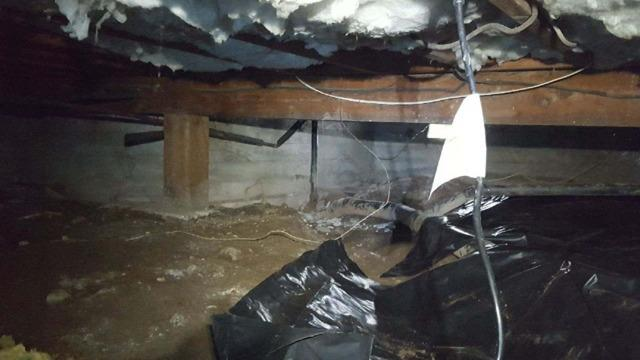 Insulation in a Crawlspace