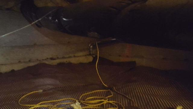 Wrapping Piers in a Crawlspace with Beautiful CleanSpace