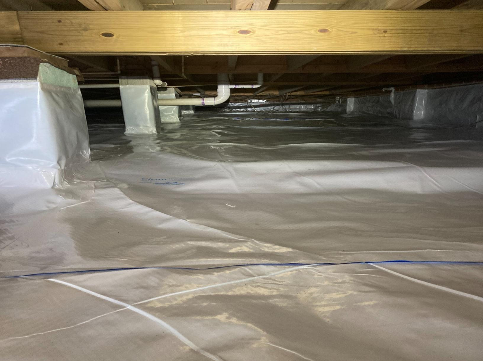 Crawlspace Holding Water in Hattiesburg, MS - After Photo