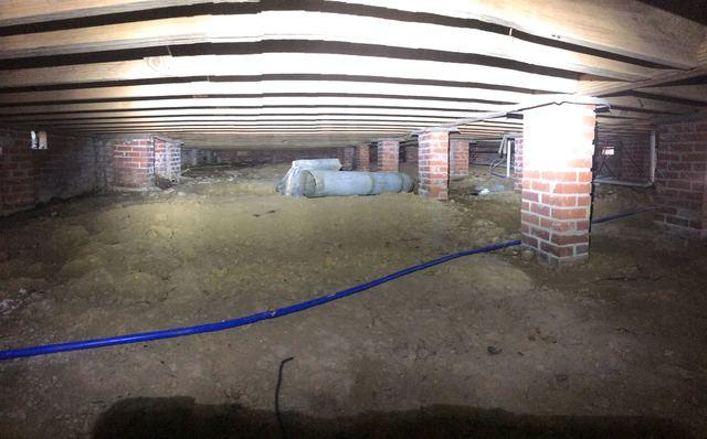 Wide Open Crawlspace in Jackson, MS