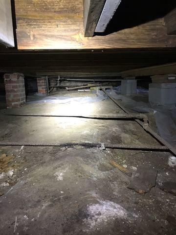 Home With Sinking Dining Room Floor in Magee, MS - Before Photo
