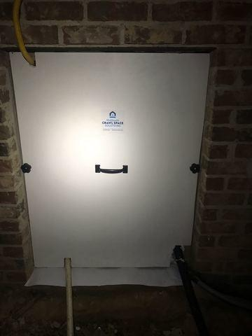 Crawlspace Access Door Install in Madison, MS