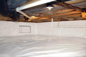 Crawlspace - After Photo
