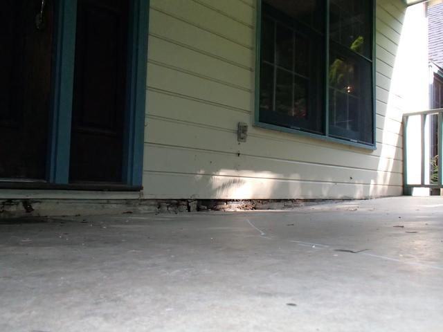 Porch In NC - Before Photo