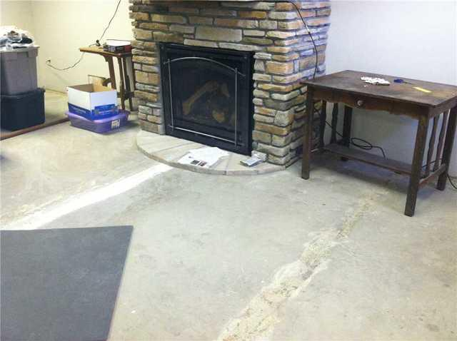 Basement Flooring Installed, Butterfield MN