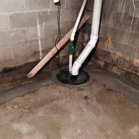 Basement Waterproofing in Winthrop, MN