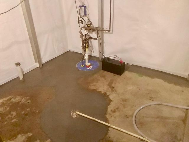 Garvin, MN Basement Waterproofing Transformation