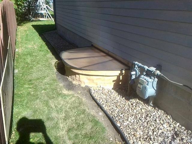 Expanded Living Space with Egress Window in Mountain Lake, MN