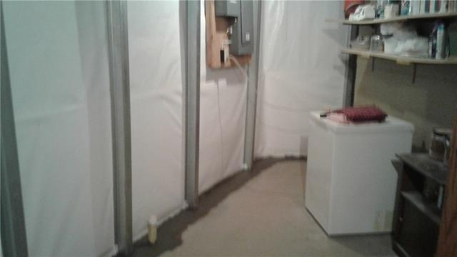 Wet Basement & Bowed Foundation Wall in Currie, MN