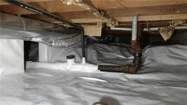 Crawl Space Encapsulation System in Eagle Lake, MN