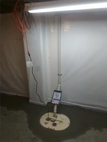TripleSafe Sump Pump System Installed in Worthington, MN