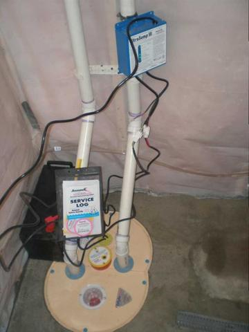 TripleSafe Sump Pump System Installed in Jordan, MN