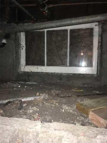 Old Rusted Crawl Space Window Replaced in Robbinsdale, MN