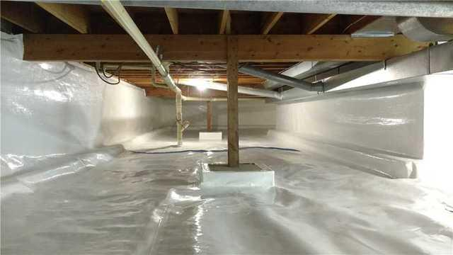 Wow! Crawl Space Transformation in New Ulm, MN