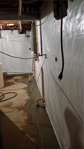 Usable Basement Now Free From Water Intrusion in Magnolia, MN - After Photo