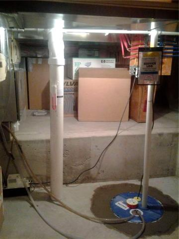 Sump Pump Replacement in Clear Lake, Iowa