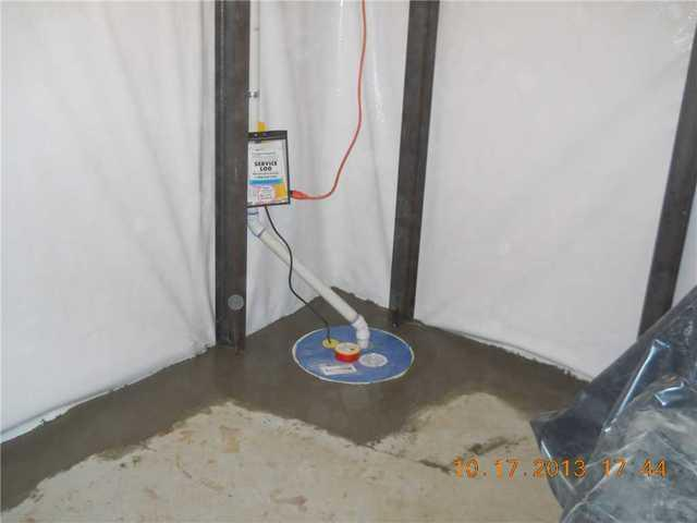 Sump Pump Install in Alden, MN - After Photo