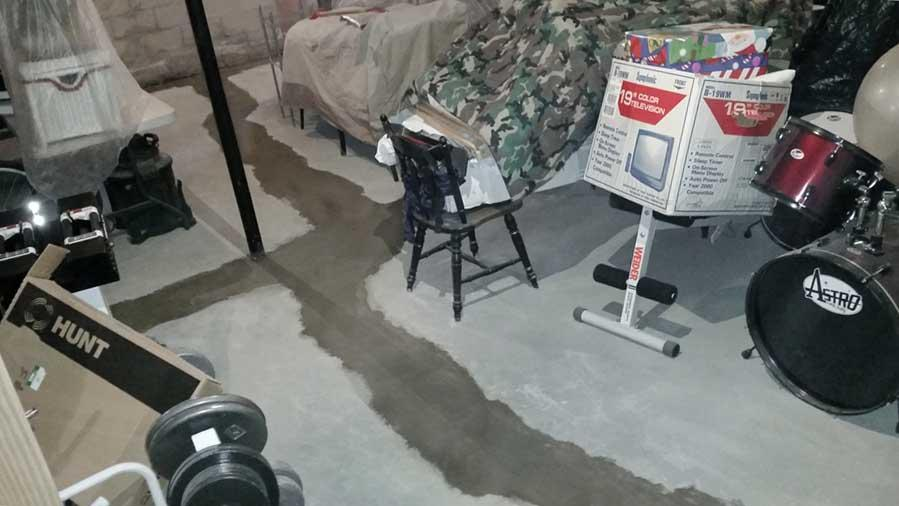 Waterproofing a Basement in Parkesburg, PA - After Photo