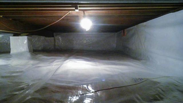 Encapsulating a Crawl Space in Folcroft, PA