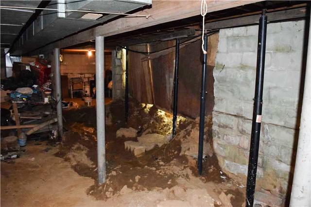 Foundation Wall Restoration in Chadds Ford, PA