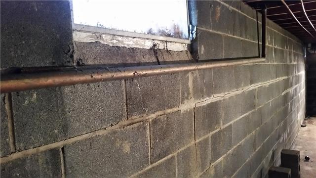 Bowing Wall Repaired In Harrisonville, NJ