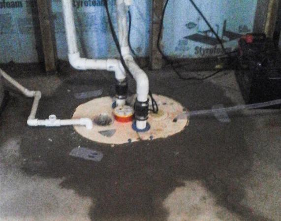 Water In Basement Solved In Pennsville NJ