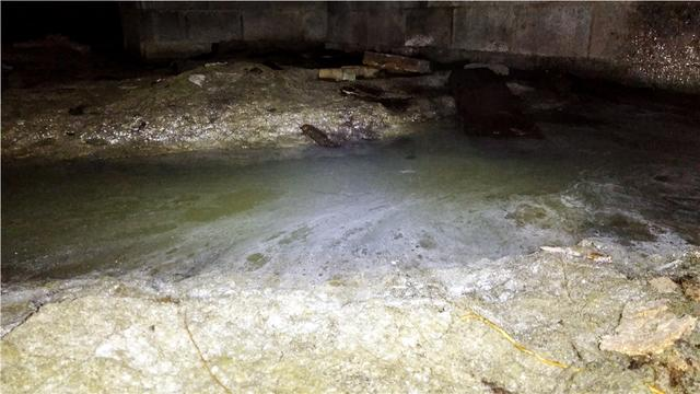 Moldy Crawl Space Repaired With CleanSpace Vapor Barrier in Blackwood, NJ