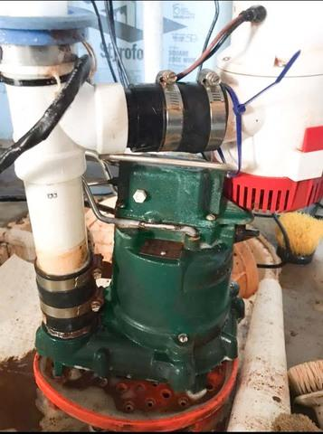 Clogged Sump Pump Serviced In Glendora, NJ