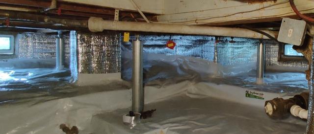 Stopping Floor Sinking by Installing SmartJacks in Villas, NJ