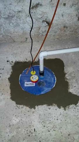 Waterproofing System Installed in Gibbsboro, NJ