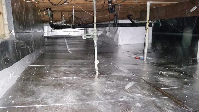 Crawl Space Waterproofing in Somers Point, NJ