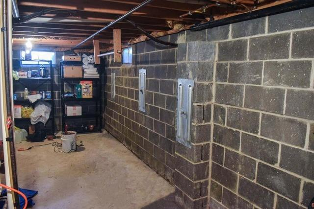 Fixing a Bowing Wall in Newport, NJ