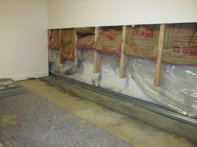 Restabilizing finished walls