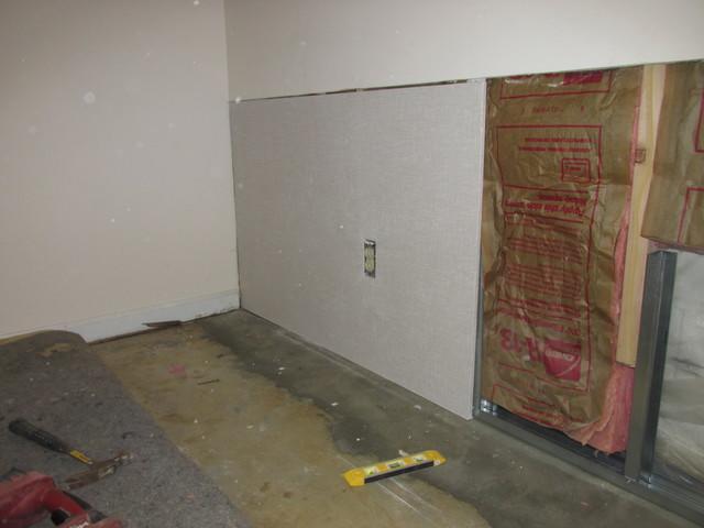 Basement finishing with EverLast Wall