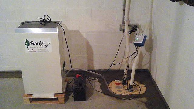 TripleSafe Sump Pump System and SaniDry Dehumidifier Installation in Millville, NJ