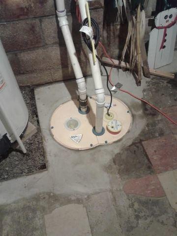 TripleSafe Sump Pump Servicing in Linwood, NJ